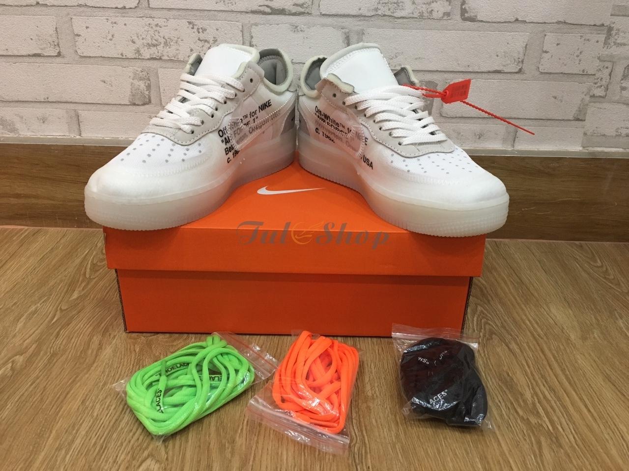 Những điểm nổi bật của dòng sản phẩm Nike Air Force 1 Low Off White dành cho Nam & Nữ